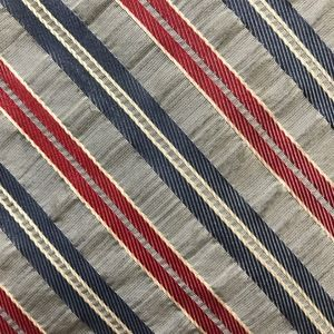 Brooks Brothers Silver Stripe Silk Necktie A050720